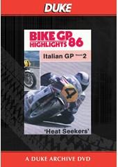 Bike GP 1986 - Italy Duke Archive DVD