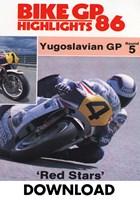 Bike GP 1986 - Yugoslavia