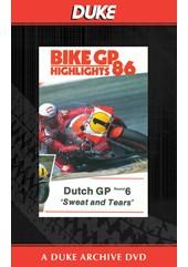Bike GP 1986 - Holland Duke Archive DVD