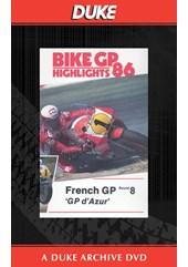 Bike GP 1986 - France Duke Archive DVD