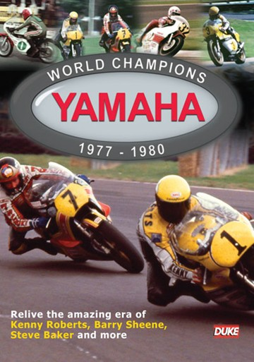 Yamaha World Champions 1977-80 DVD - click to enlarge