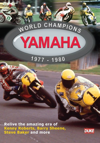 Yamaha World Champions 1977-80 DVD
