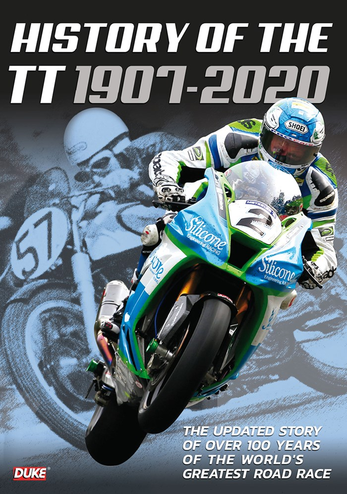 Isle of Man TT story 1907-2020 DVD