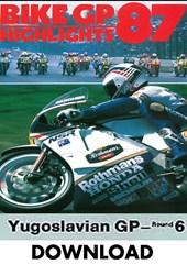 Bike GP 1987 Yugoslavia Download
