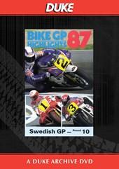 Bike GP 1987 - Sweden Duke Archive DVD
