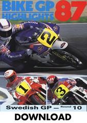 Bike GP 1987 Sweden Download