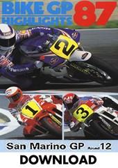 Bike GP 1987 - San Marino Duke Archive Download