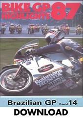 Bike GP 1987 Brazil Download