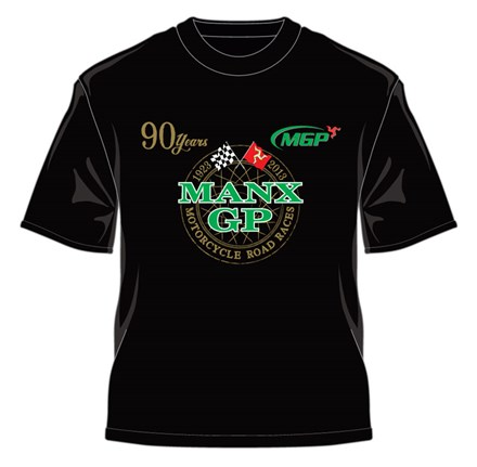 9ce3aa15 Manx Grand Prix 2013 T Shirt Flags Black : Isle of Man TT Shop