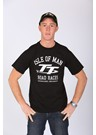 TT Road Races Vintage T Shirt Black