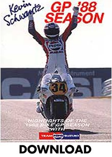 Kevin Schwantz 1988 GP Season Review Download