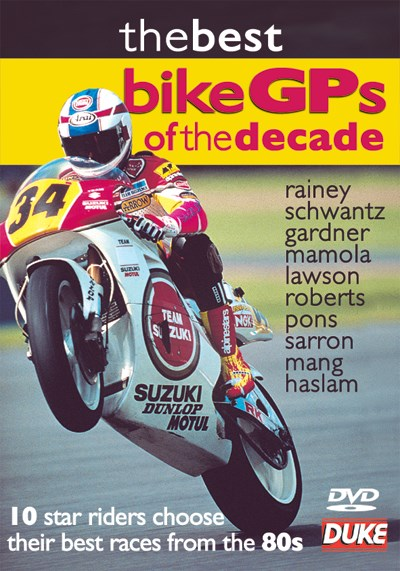 Best Bike GPs of the Decade DVD