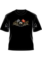 TT 2014 T-Shirt Gold Bikes Black
