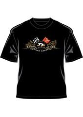 TT 2014 T-Shirt Gold Bikes Black