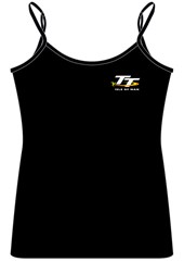 TT 2014 Ladies Strap Top Black
