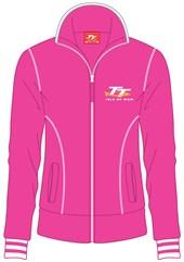 TT 2014 Ladies Track Top Pink