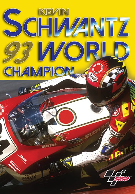 Kevin Schwantz 1993 World Champion DVD