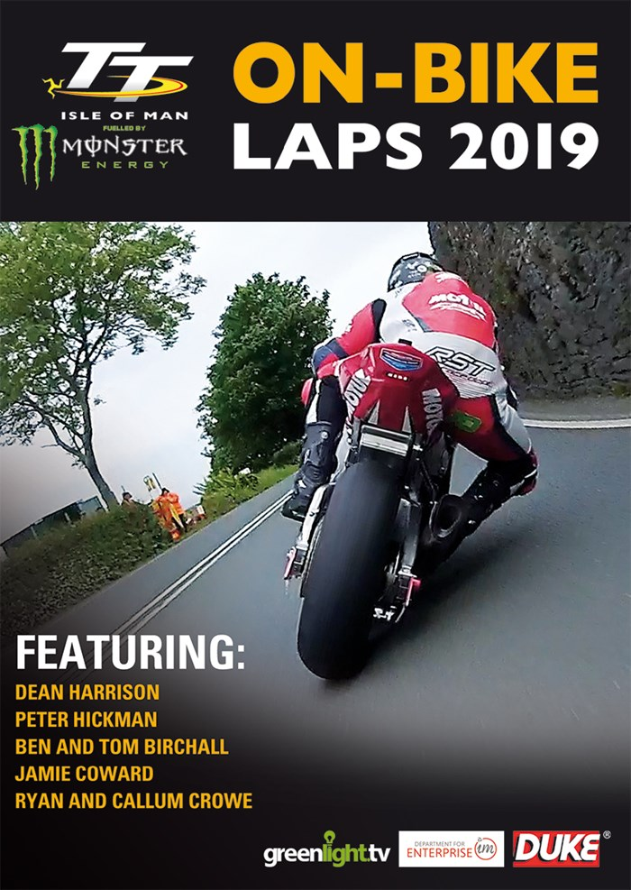 TT On-Bike Laps 2019 DVD