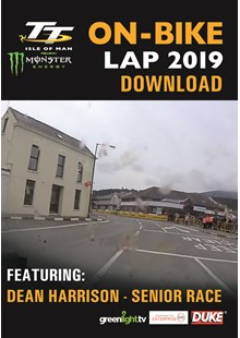 TT 2019 On Bike  - Dean Harrison - Senior Race - Download