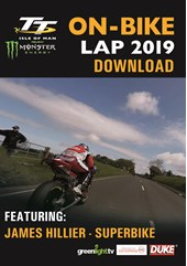 TT On Bike 2019 - James Hillier - Superbike Race - Download