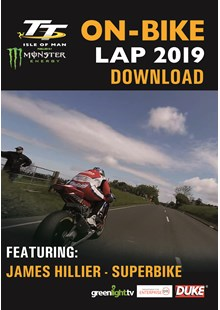 TT 2019 On Bike  - James Hillier - Superbike Race - Download