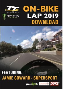 TT 2019 On Bike - Jamie Coward - Supersport Race 2 - Download
