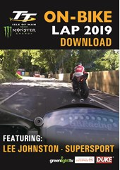 TT On Bike 2019 - Lee Johnston - Supersport Race 2 - Download