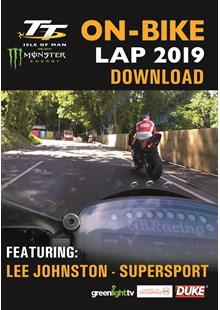 TT 2019 On Bike - Lee Johnston - Supersport Race 2 - Download
