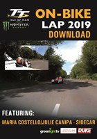 TT On Bike 2019 - Maria Costello & Julie Canipa - Sidecar Race 1 - Download
