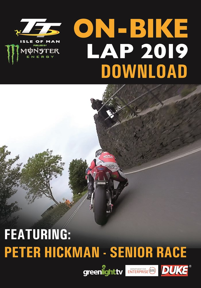 TT On Bike 2019 - Peter Hickman - Senior Race - Download