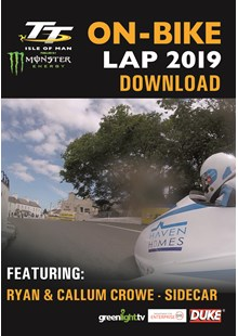 TT 2019 On Bike - Ryan & Callum Crowe - Sidecar Race 1 - Download