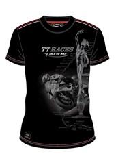 TT  Custom Shadow Trophy Bike T Shirt