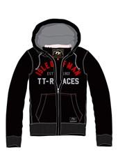 TT 2015 Hoodie Zip Black/Red