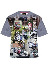 TT All Over Print IOM Racing Is Living T Shirt