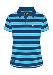 TT 2015 Polo Shirt Blue/Navy Hoop