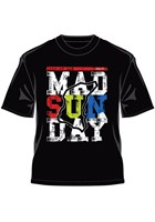 TT 2015 Mad Sunday Multi Coloured T-Shirt Black