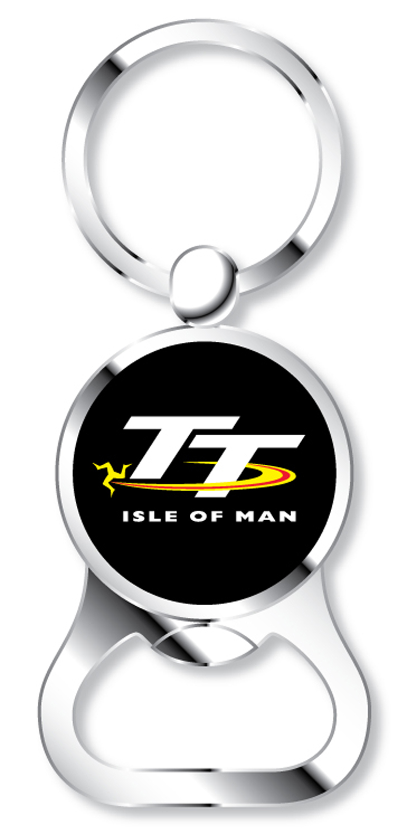 tt 2015 keyring bottle opener isle of man tt official shop. Black Bedroom Furniture Sets. Home Design Ideas