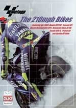 MotoGP - The 210mph Bikes DVD