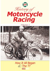 Castrol History of Motorcycle Racing Vol 1 DVD