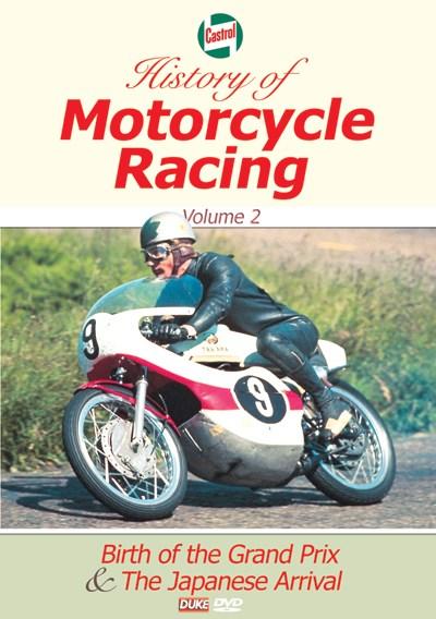 Castrol History of Motorcycle Racing Vol 2 DVD