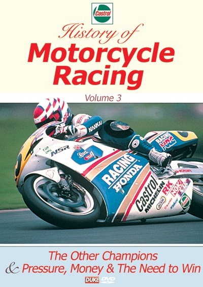 Castrol History of Motorcycle Racing Vol 3 DVD