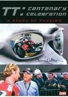 TT Centenary Celebration.Murray Walker Signed Sleeve DVD