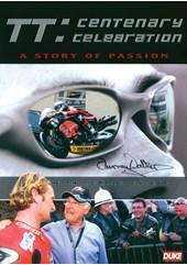 TT Centenary Celebration.Murray Walker Signed Sleeve DVD