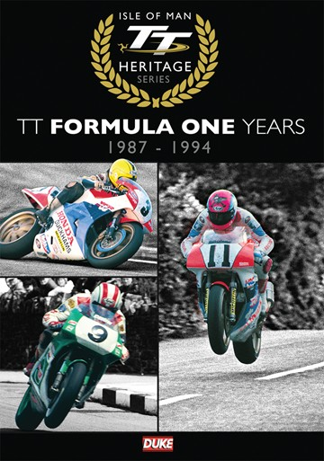 TT The Formula One Years 1987 - 1994 DVD - click to enlarge
