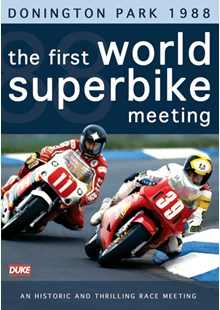The First World Superbike Meeting Donington Park 1988 DVD