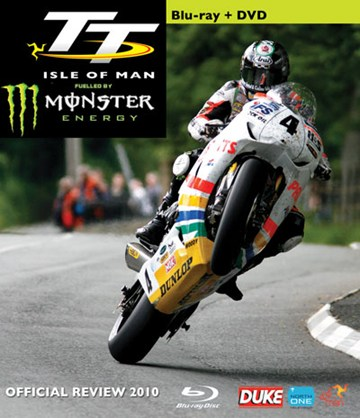 TT 2010 Review Blu-ray incl standard PAL DVD - click to enlarge