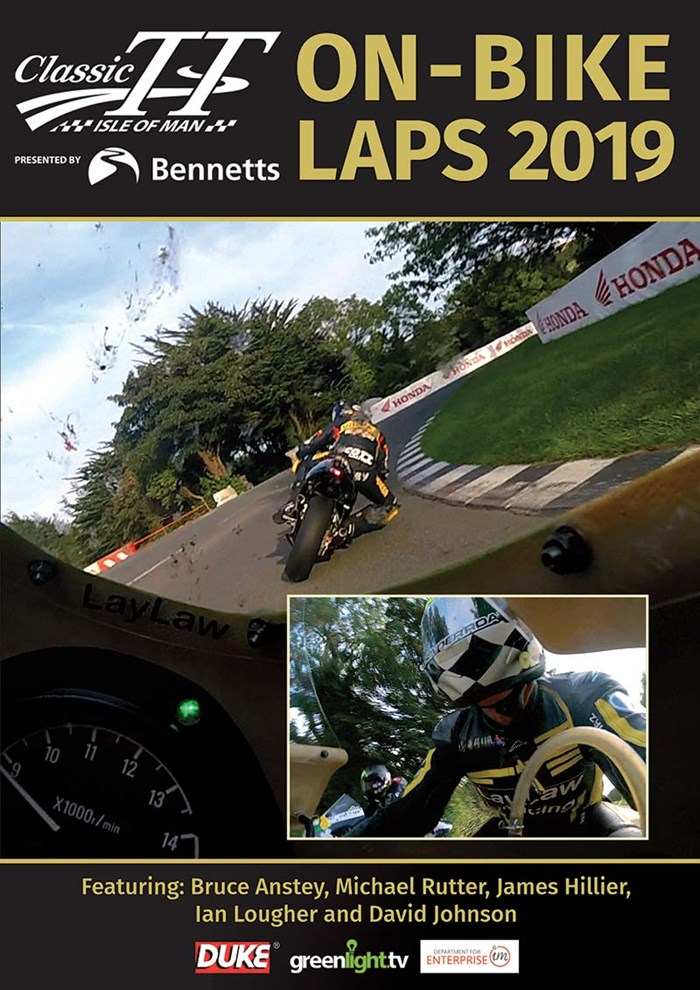 Classic TT 2019 On Bike Laps DVD