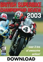British Superbike Review 2003  Download