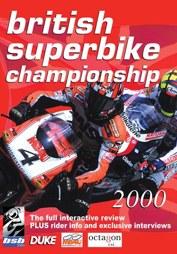 British Superbike Review 2000 DVD - click to enlarge