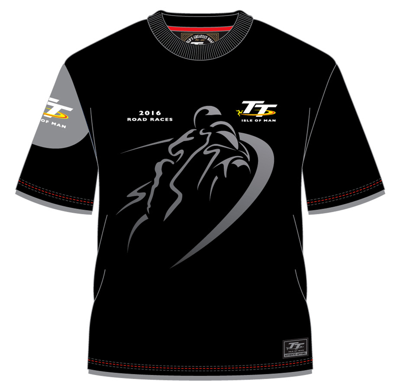 Tt 2016 shadow bike custom t shirt black isle of man tt for Bike and cycle shoppe shirt